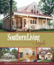Cover of: Southern Living Style Cottages