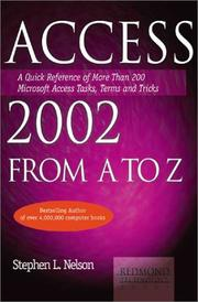 Access 2002 from A to Z by Julia Kelly, Stephen L. Nelson