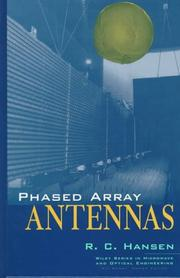 Phased array antennas by Hansen, Robert C.