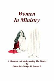 Cover of: Women in Ministry | George Stover