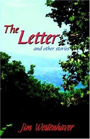 Cover of: The Letter And Other Stories | Jim Westenhaver