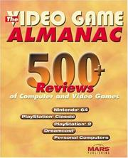 Cover of: The Video Game Almanac | Mark H. Walker