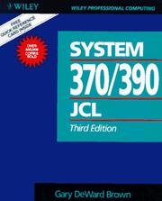 Cover of: System 370/390 job control language