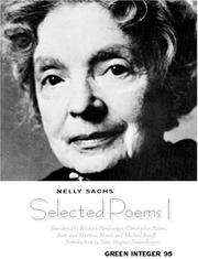 Cover of: Collected Poems I, 1944-1949