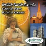 Cover of: English Parish Records |