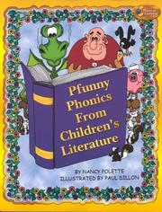 Cover of: Pfunny Phonics from Children's Literature
