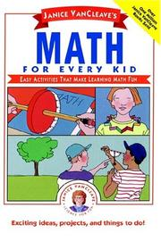 Cover of: Janice VanCleave's math for every kid