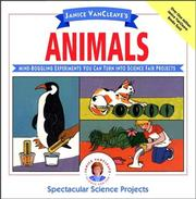 Cover of: Janice VanCleave's animals