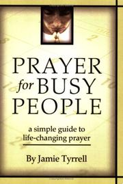 Cover of: Prayer for Busy People | Jamie Tyrrell