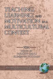 Cover of: Teaching, Learning, and Motivation in a Multicultural Context | Farideh Salili