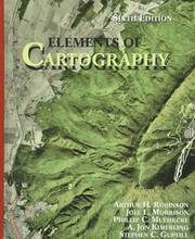 Cover of: Elements of cartography |