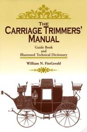 Cover of: The Carriage Trimmers' Manual