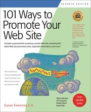 Cover of: 101 Ways to Promote Your Web Site (101 Ways series)