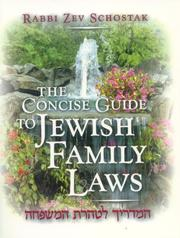 Cover of: The Concise Guide to Jewish Family Laws
