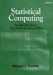 Statistical computing by Michael J. Crawley