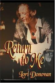 Cover of: Return To Me