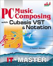 Cover of: PC Music Compsoing with Cubasis VST & Notation 6