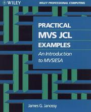 Cover of: Practical MVS JCL examples