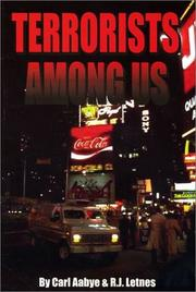 Terrorists Among Us by Carl Aabye, R. J. Letnes
