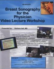 Cover of: Breast Sonography for the Physician Workshop: Course Workbook + Vhs Videocassette