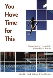 Cover of: You have time for this |