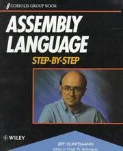 Cover of: Assembly language