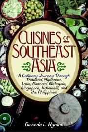 Cover of: Cuisines of Southeast Asia