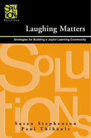Cover of: Laughing Matters | Susan Stephenson; Paul Thibault