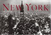 Cover of: Vintage New York | Museum of the City of New York.