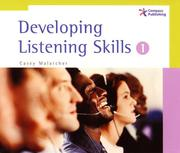 Cover of: Developing Listening Skills 1, Audio CD set