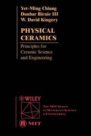 Cover of: Physical ceramics by Yet-ming Chiang