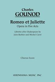 Cover of: Romeo et Juliette, Chorus score