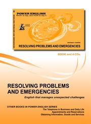 Cover of: Resolving Problems and Emergencies (Power English Series for Russian Speakers)