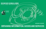 Cover of: Obtaining Information, Goods and Services
