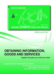 Cover of: Obtaining Information, Goods, and Services
