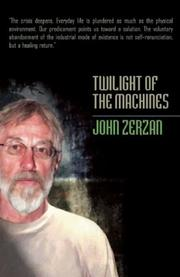 Cover of: Twilight of the Machines