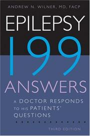 Cover of: Epilepsy: 199 Answers