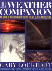 Cover of: The weather companion