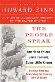 Cover of: The People Speak