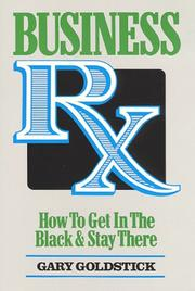 Cover of: Business Rx | Gary Goldstick