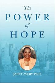 Cover of: The Power of Hope