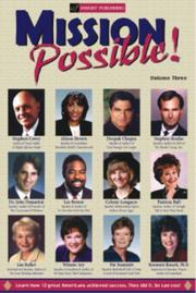 Cover of: Mission Possible, Volume 3 (Mission Possible) (Mission Possible)