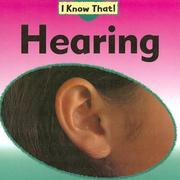 Cover of: Hearing (I Know That!) |