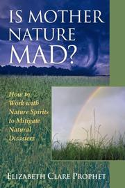 Cover of: Is mother nature mad?