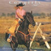 Cover of: 2007 Cowgirls Calendar | David R. Stoecklein