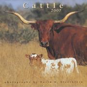 Cover of: 2007 Cattle Calendar | David R. Stoecklein