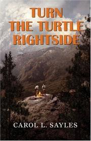 Cover of: Turn the Turtle Rightside | Carol L. Sayles