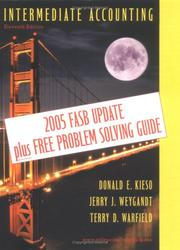 Cover of: Intermediate Accounting, FASB Update Edition,  11th Edition | Donald E. Kieso