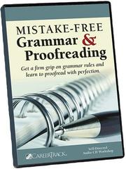 Cover of: Mistake-Free Grammar & Proofreading