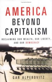 Cover of: America Beyond Capitalism